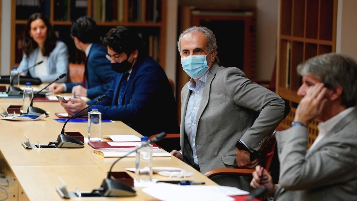 Enrique Ruiz Escudero, consejero de Sanidad en Madrid. (Foto: Comunidad)