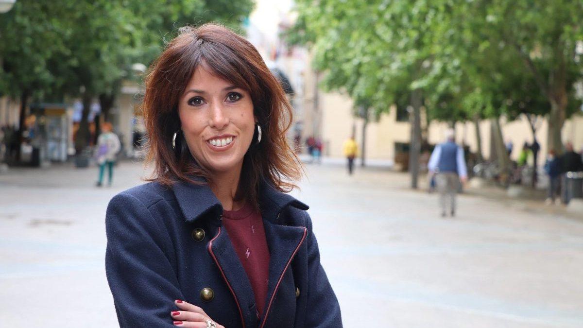 Martina Velarde, coordinadora general de Podemos Andalucía.
