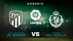 Liga Santander 2019-2020: Atlético – Valladolid | Horario del partido de fútbol de Liga Santander.