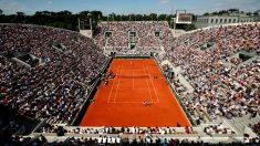 La pista central Philippe-Chatrier de Roland Garros. (Getty)