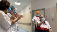 Manuel sale del hospital tras 88 días internado.
