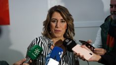 La secretaria general del PSOE de Andalucía, Susana Díaz.