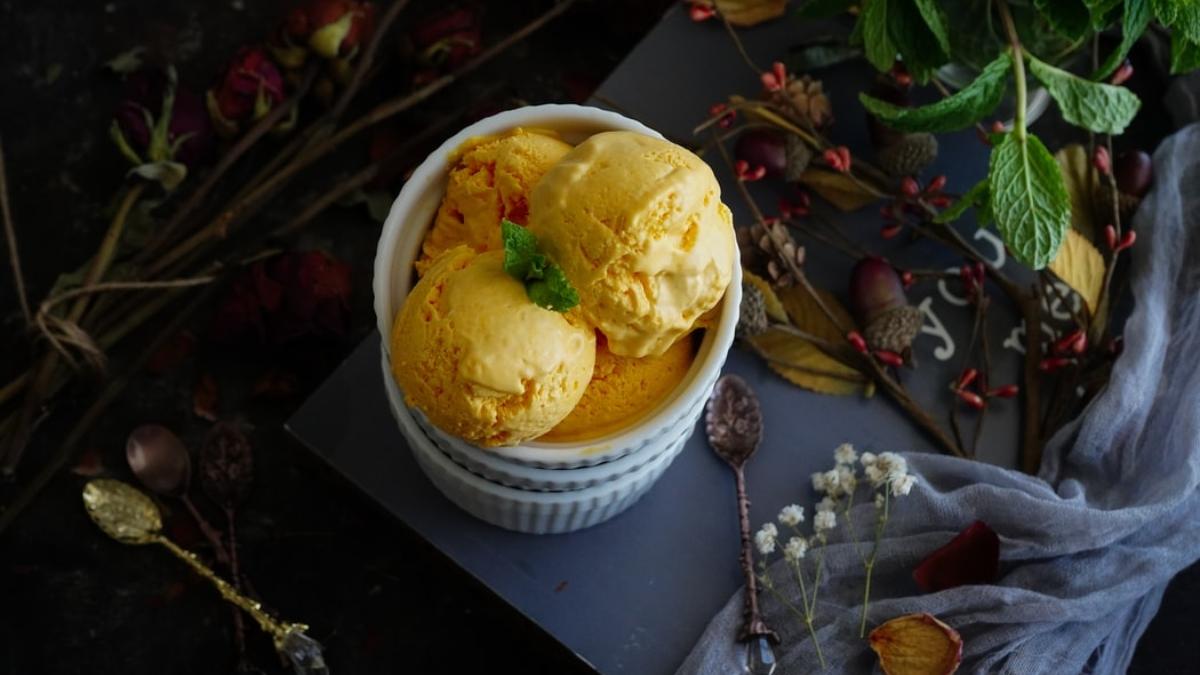 Helado de mango con solo 2 ingredientes