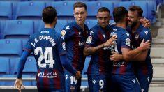 El Levante venció al Espanyol en Cornellá. (EFE)