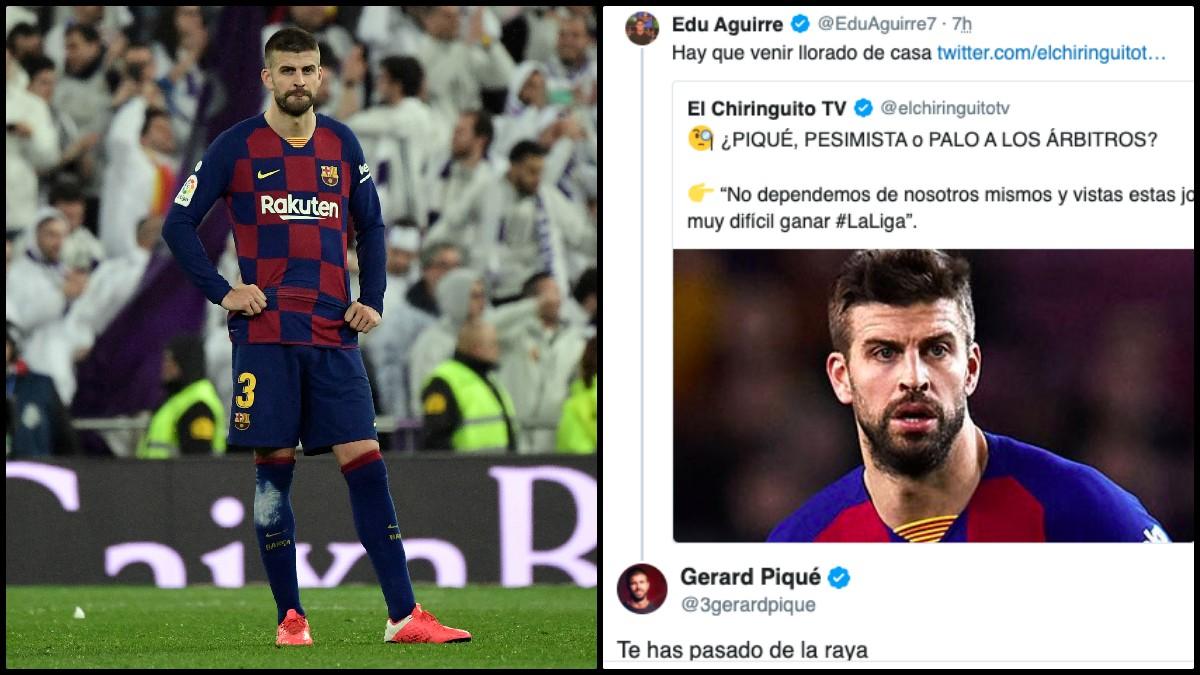 Gerard Piqué vuelve a dar la nota en Twitter.