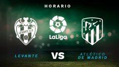 Liga Santander 2019-2020: Levante – Atlético   Horario del partido de fútbol de Liga Santander.