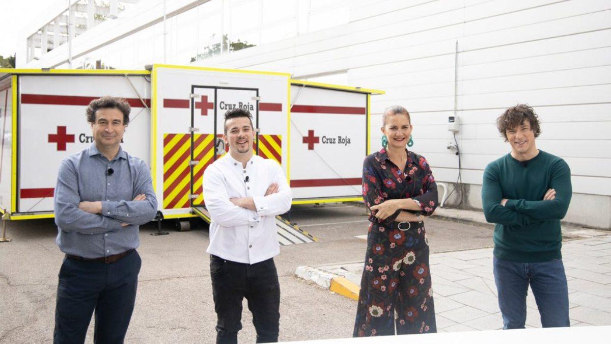 'MasterChef' cocinará para Cruz Roja