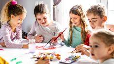 Cómo hacer acuarelas caseras no tóxicas y naturales para niños