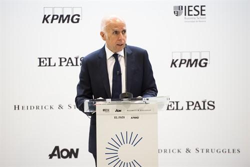 Hilario Albarracín, presidente de KPMG España, en el VI Foro del consejero