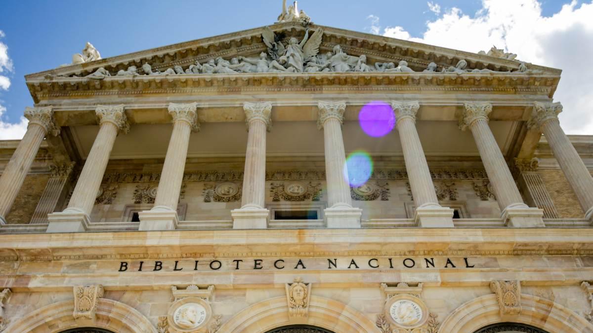 Fachada de la Biblioteca Nacional de España (BNE). Foto: EP