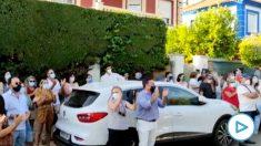 Vecinos de Francisco en Gines protestan para expulsar a los okupas.