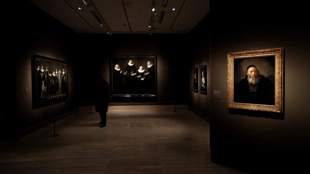 La exposición 'Rembrandt y el retrato en Ámsterdam, 1590-1670' en el Museo Thyssen. Foto: EP