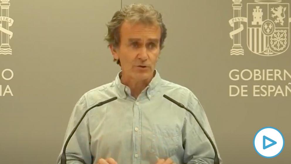 Fernando Simón, director del Centro de Alertas y Emergencias Sanitarias (CCAES).