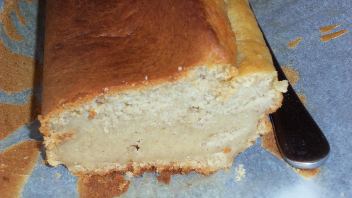Receta de Tarta de plátano, miel y canela