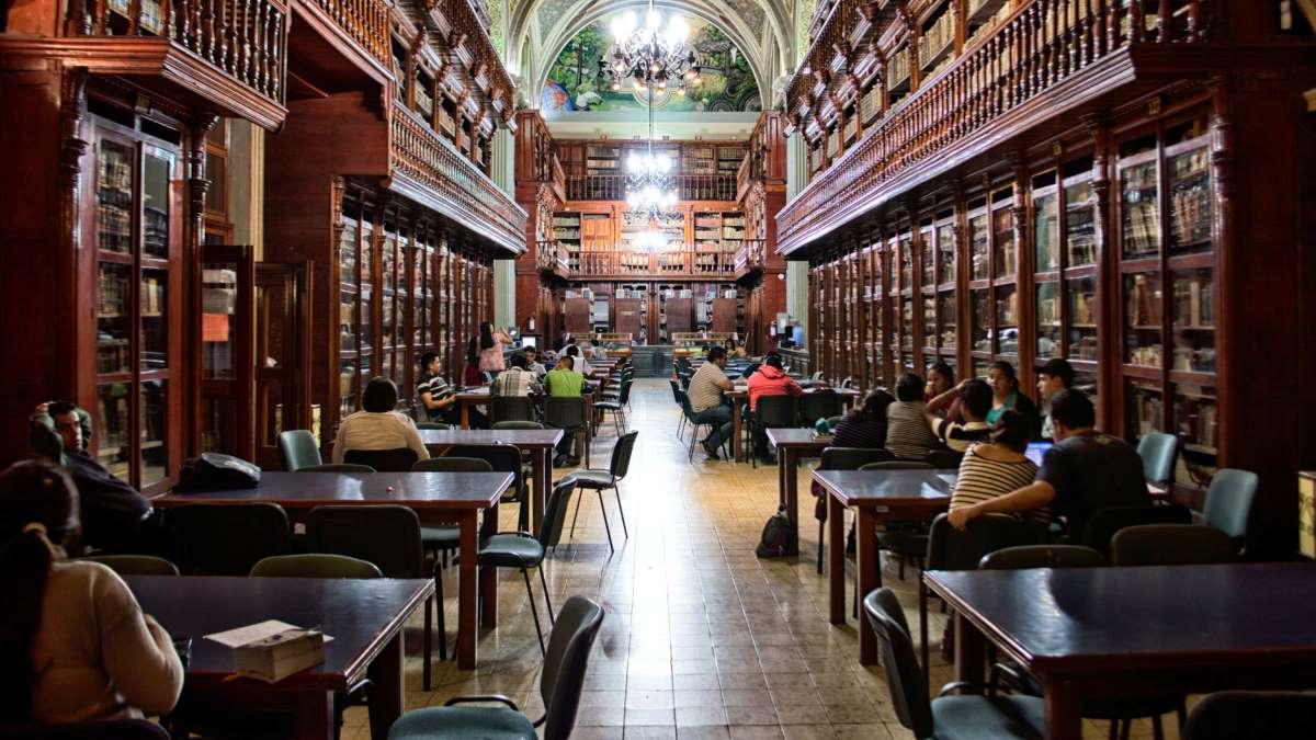 Estudiar en la biblioteca por fin será posible en la nueva normalidad