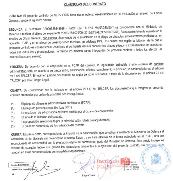 Sánchez recurre a la empresa de un socialista para decidir los ascensos en la cúpula del Ejército