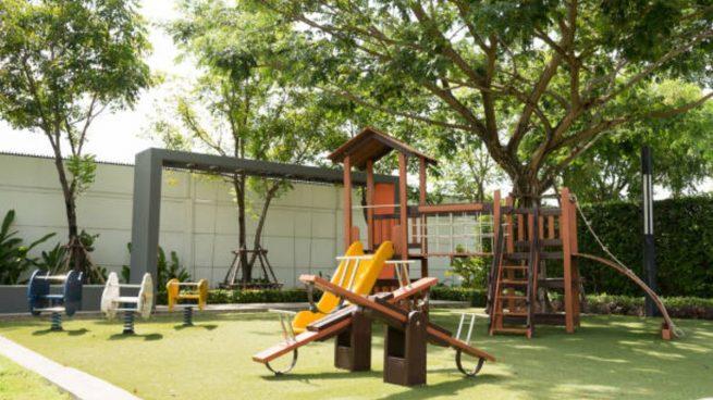 patio recreo niños