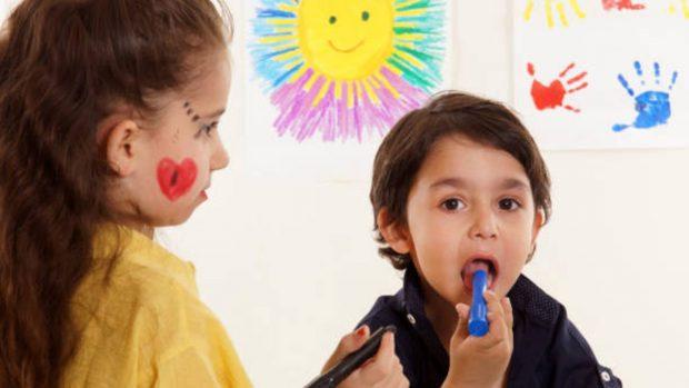 Cómo hacer colores comestibles para niños