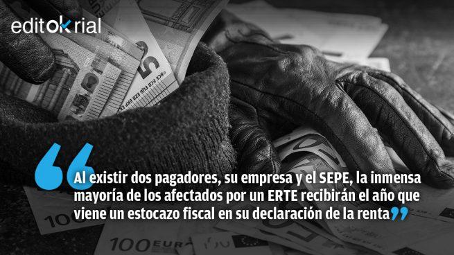 Atraco socialcomunista con los ERTE