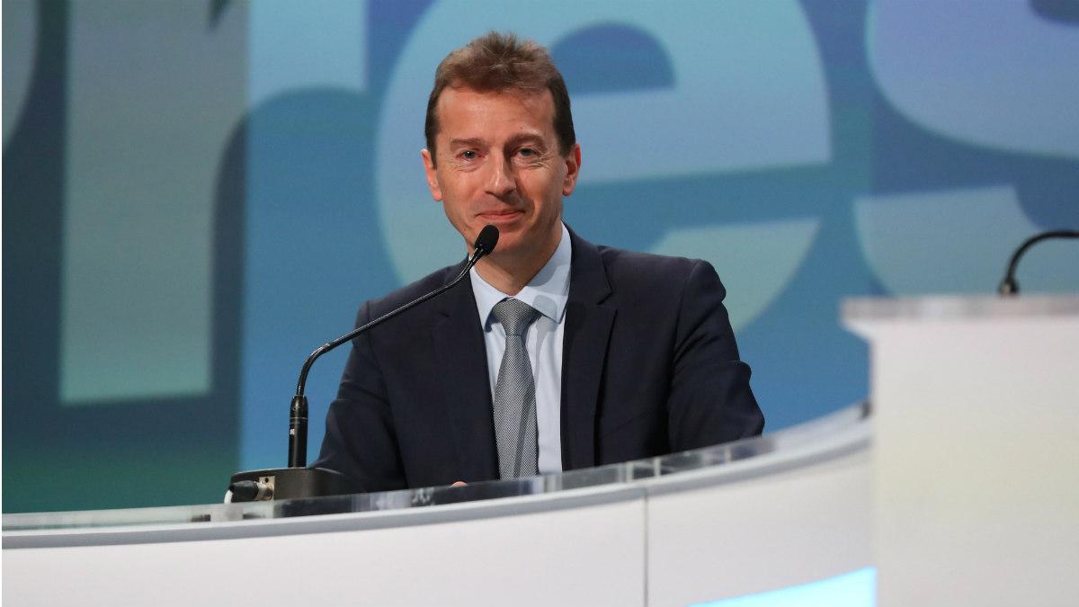 El consejero delegado de Airbus, Guillaume Faury