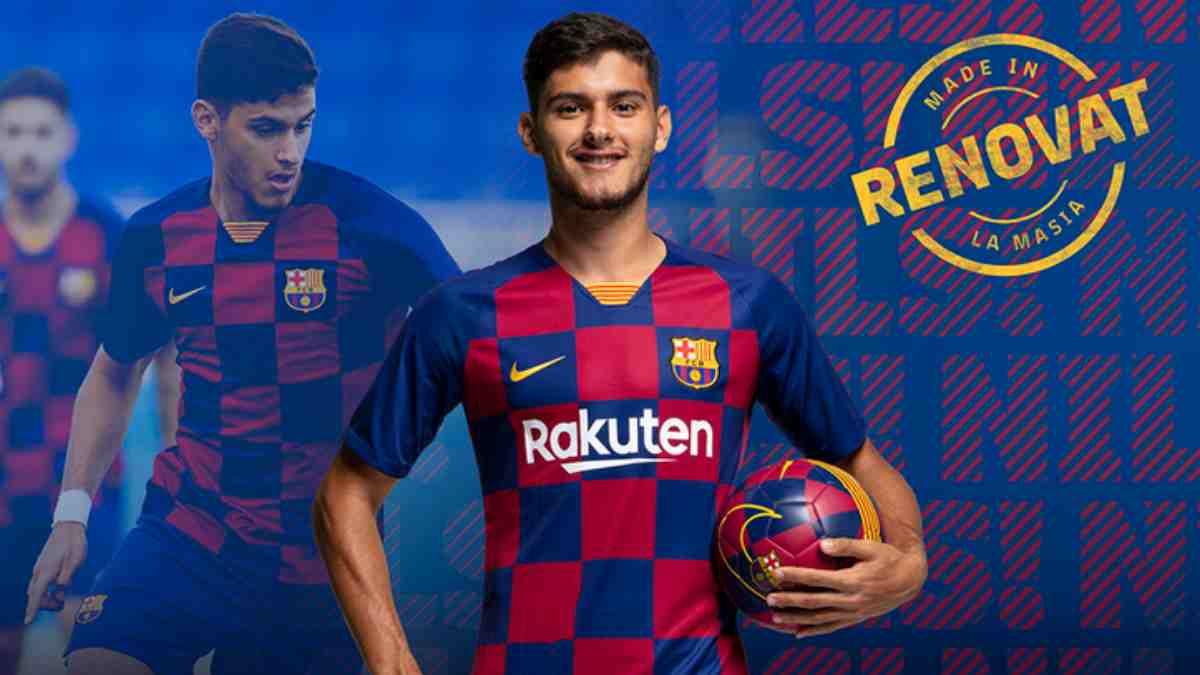 Nils Mortimer renueva con el Barcelona hasta 2023. (Fútbol Club Barcelona)