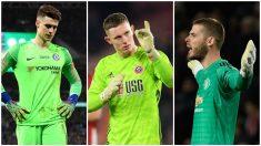 Henderson, el portero con el que Chelsea y United quieren echar a Kepa y De Gea. (Getty)