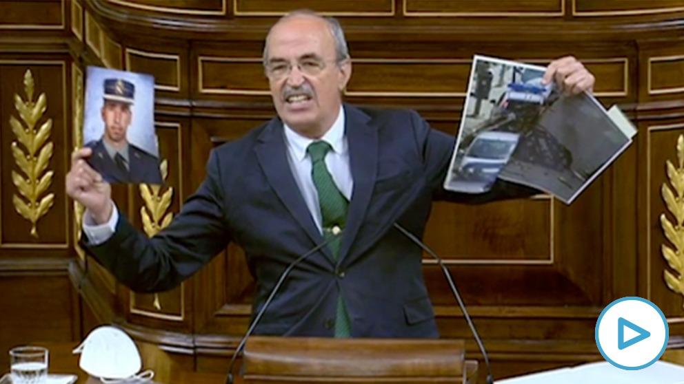 Antonio Salvá, diputado de Vox.