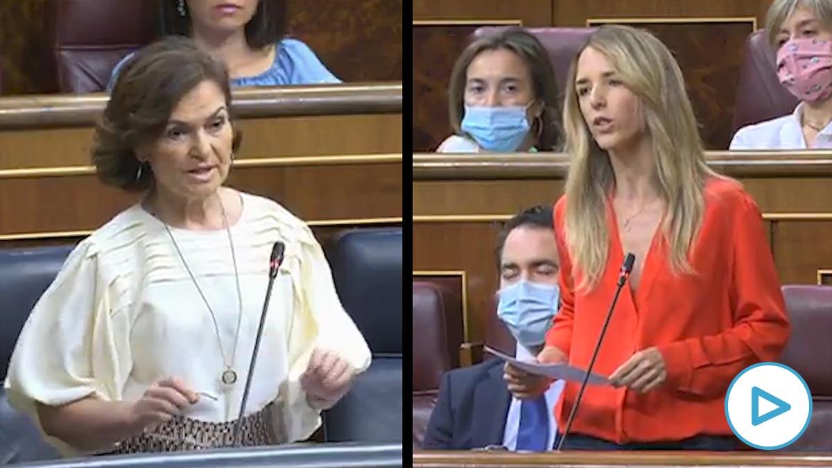 Cayetana Álvarez de Toledo a Carmen Calvo: «El homenaje que preparan al enfermo desconocido es un homenaje a sí mismos».