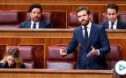 Casado reivindica el 'plan antiokupación' del PP ante la «pasividad del Gobierno de Sánchez»