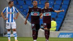 El Celta se impuso a la Real Sociedad en el Reale Arena. (EFE)