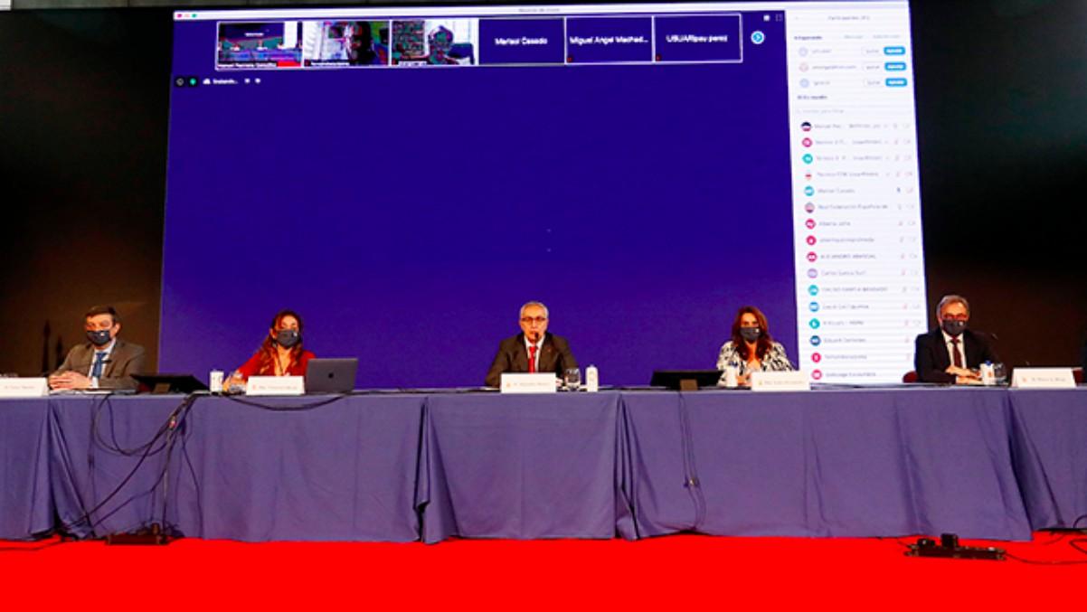 El COE celebró su Asamblea General Ordinaria de manera telemática. (COE)