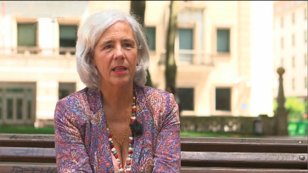 Garbiñe Biurrun, presidenta interina del Tribunal Superior de Justicia vasco.