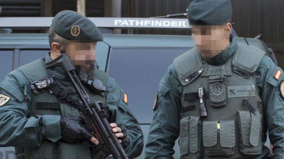 Macrooperación antidroga en Andalucía