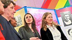 La ministra de Igualdad, Irene Montero, y la delegada del Gobierno contra la violencia de género, Victoria Rosell.