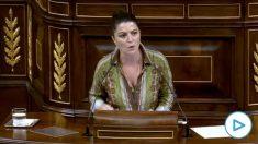 La intervención de Macarena Olona (Vox) que se ha hecho viral: «El hombre no mata, mata el asesino».