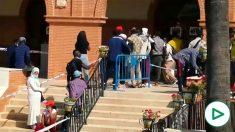 Inmigrantes en Palos de la Frontera.