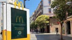 Mupis de McDonalds en Madrid