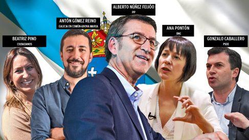 Candidatos Elecciones Gallegas 2020