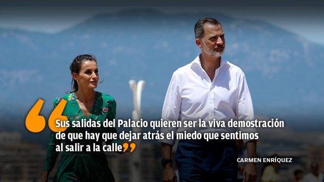 Los Reyes comparten esperanza e inquietudes a pie de calle con los ciudadanos de toda España