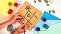 Todos los pasos para hacer un juego de tres en raya personalizado para los niños