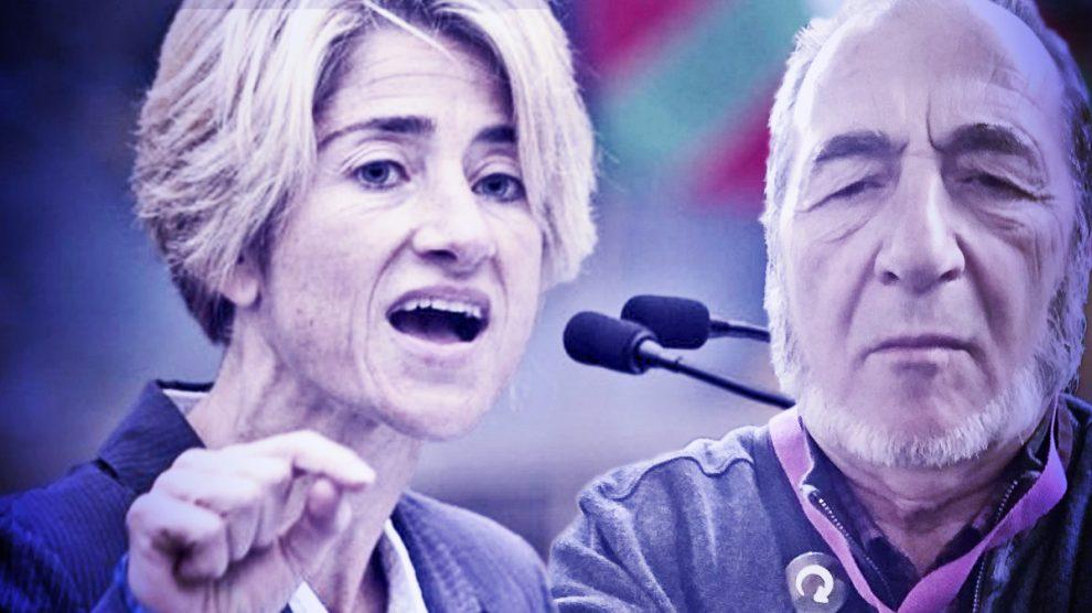 Pilar Zabala y Paco Ruiz.