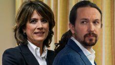 Dolores Delgado, fiscal general del Estado, y Pablo Iglesias, vicepresidente segundo del Gobierno.