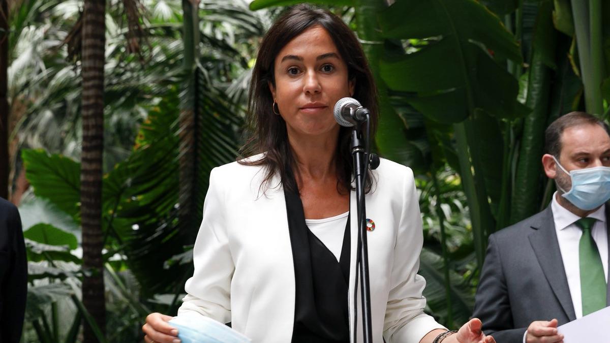 Isabel Pardo de Vera, presidenta de Adif. (Foto: Ministerio)