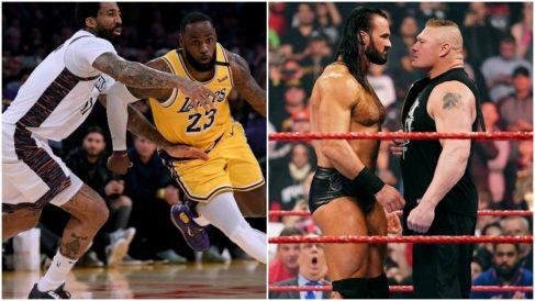 La NBA y la WWE, en el aire.