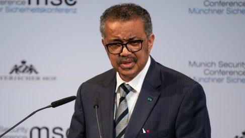 El director general de la Organización Mundial de la Salud (OMS), Tedros Adhanom.