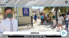 Vecinos de Coria del Río (Sevilla) se someten a análisis.