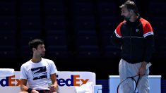 Djokovic e Ivanisevic, en 2019. (Getty)