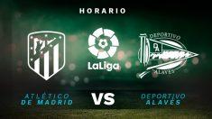Liga Santander 2019-2020: Atlético – Alavés | Horario del partido de fútbol de Liga Santander.
