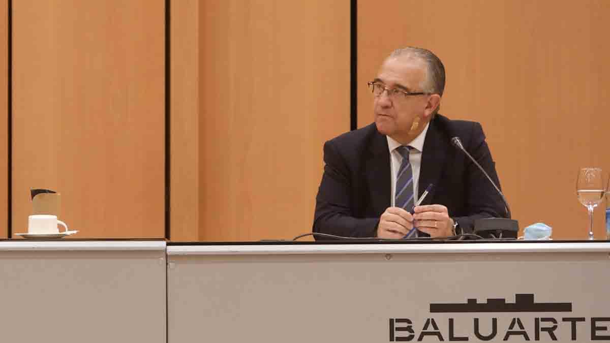 El alcalde de Pamplona, Enrique Maya. Foto: EP