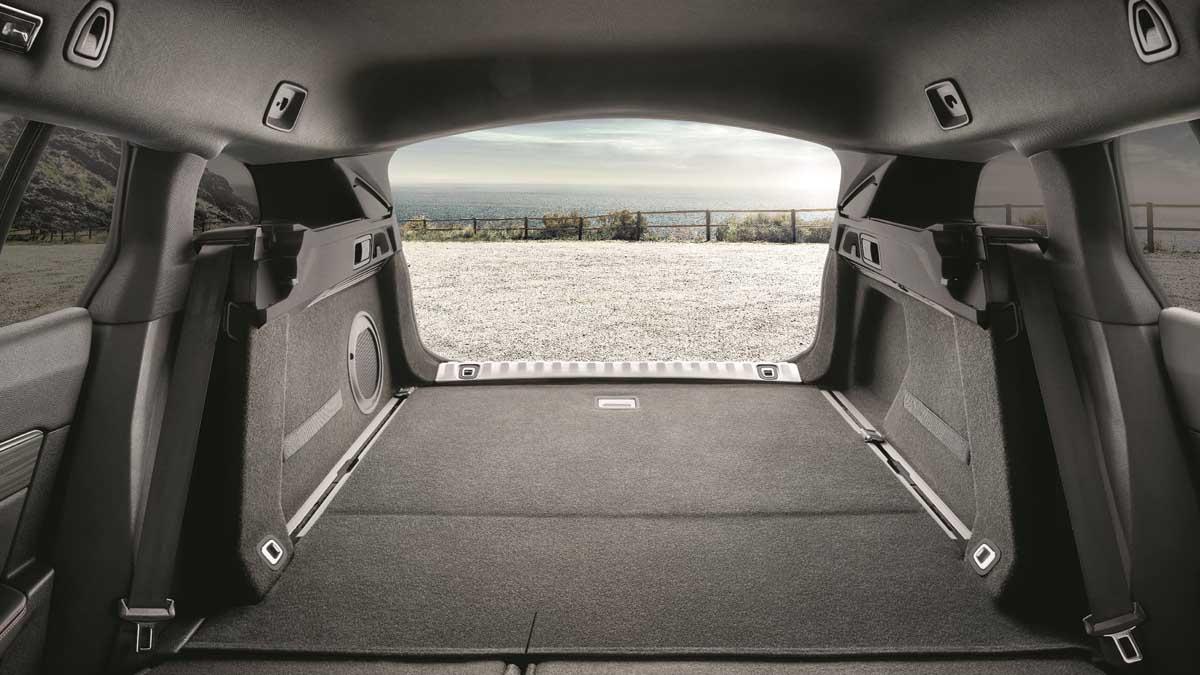 Maletero del nuevo Peugeot 508 SW